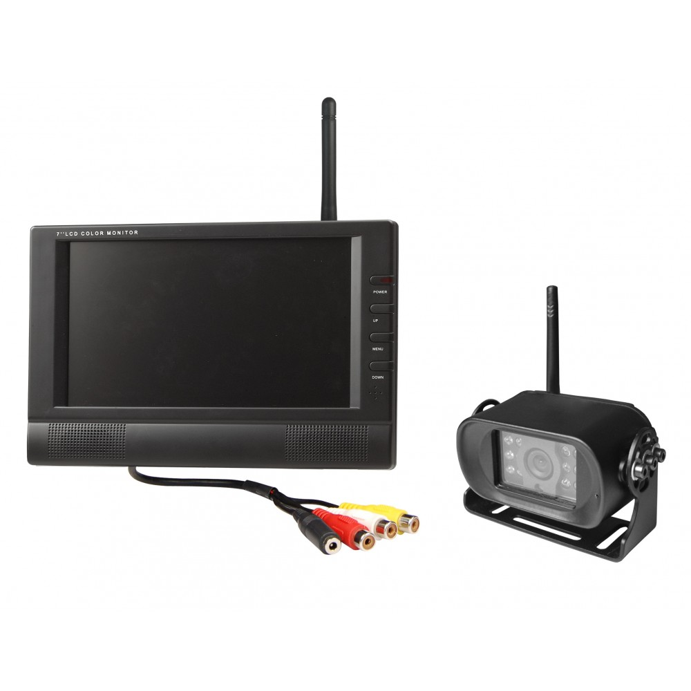 Wireless Night Vision Reversing Camera With 7 Quot Colour
