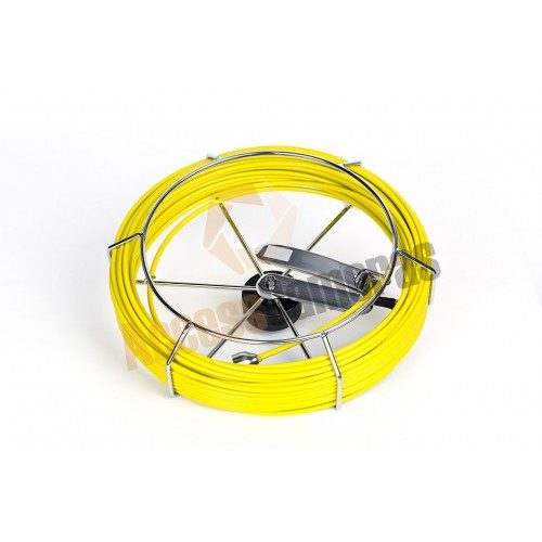 PRO-DRAIN 2 Replacement 40m Fibre Glass Rod and Reel - ON-SCREEN METERAGE