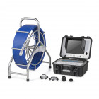 60M HD Pan and Tilt Pipe Inspection Camera System - 28mm Camera Head