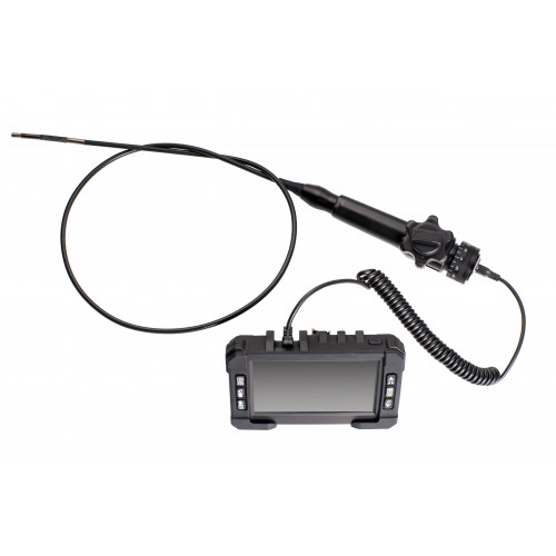 5.8mm Articulated / Steerable Recordable HD Inspection Camera with Wireless Monitor