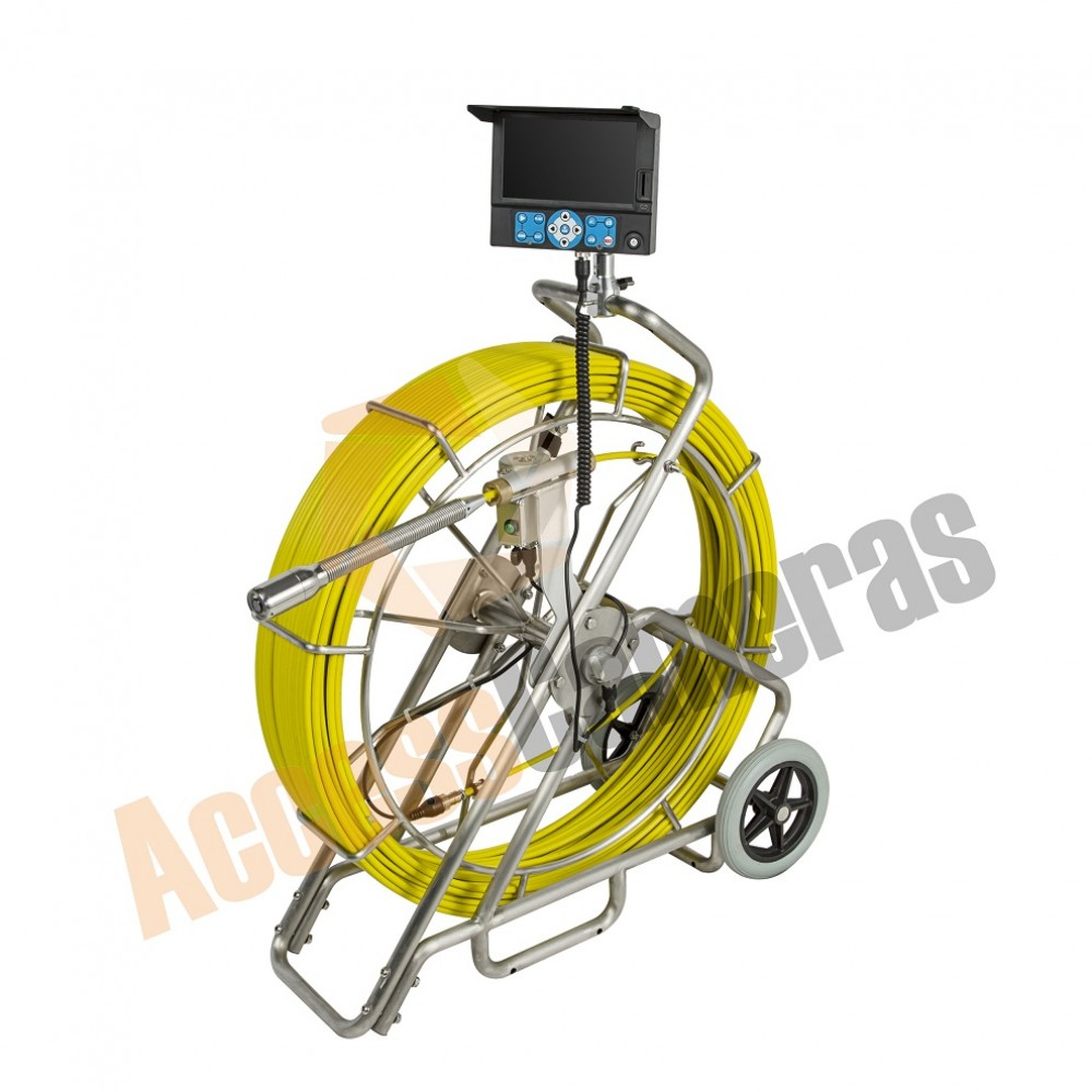 All In One 100m Recordable Drain Amp Duct Inspection Camera