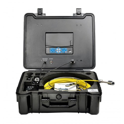 PRO-DRAIN 2 Recordable Drain & Duct Inspection Camera with 30m Probe & Hi-Res WIDE ANGLE Lens HIRE / RENTAL