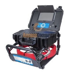 30m PRO-DRAIN 3 Recordable Drain & Duct Inspection Camera with 6.8mm Probe & Built-in Keyboard & Meterage