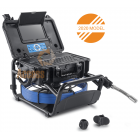 20m PRO-DRAIN 3 Recordable Drain & Duct Inspection Camera with 5.2mm Probe & Built-in Keyboard & Meterage