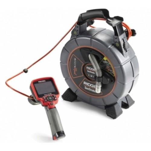 RIDGID SeeSnake microDrain 10m Video Inspection System.