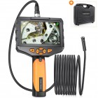 "ACCESS CAMERAS HD Recordable Inspection Camera with 8mm DUAL VIEW Lens 3M 5"" FIXED Screen"