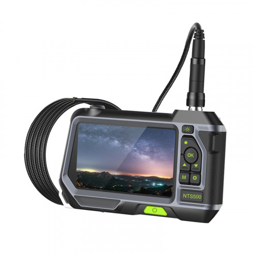 """ACCESS CAMERAS HD Recordable Inspection Camera with 8mm DUAL VIEW Lens 3M 5"""" Screen"""