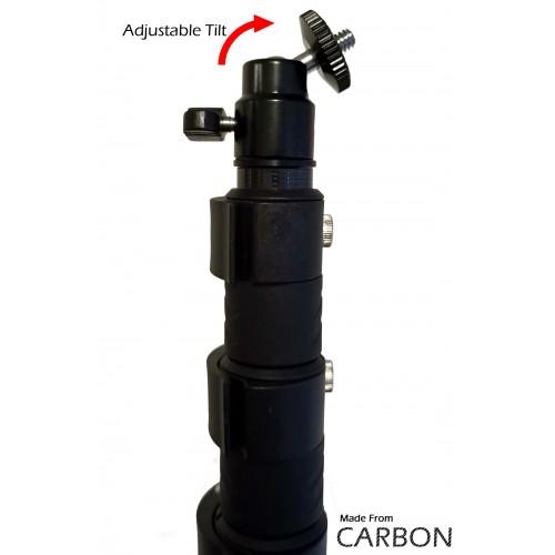 7.5m Telescopic Carbon Lightweight Aerial Photography & Survey Pole