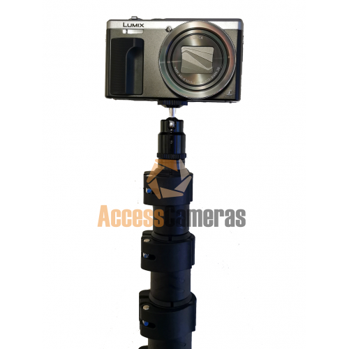 ACCESS CAMERAS 10.5m Wireless Telescopic Pole Smartphone Inspection Camera - HIRE / RENTAL