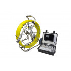 AHD Pan and Tilt Pipe Inspection Camera System - 9mm Rod